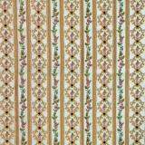 stoff-blumen-streifen-gold-gruen-kucukerler-12920-y-505