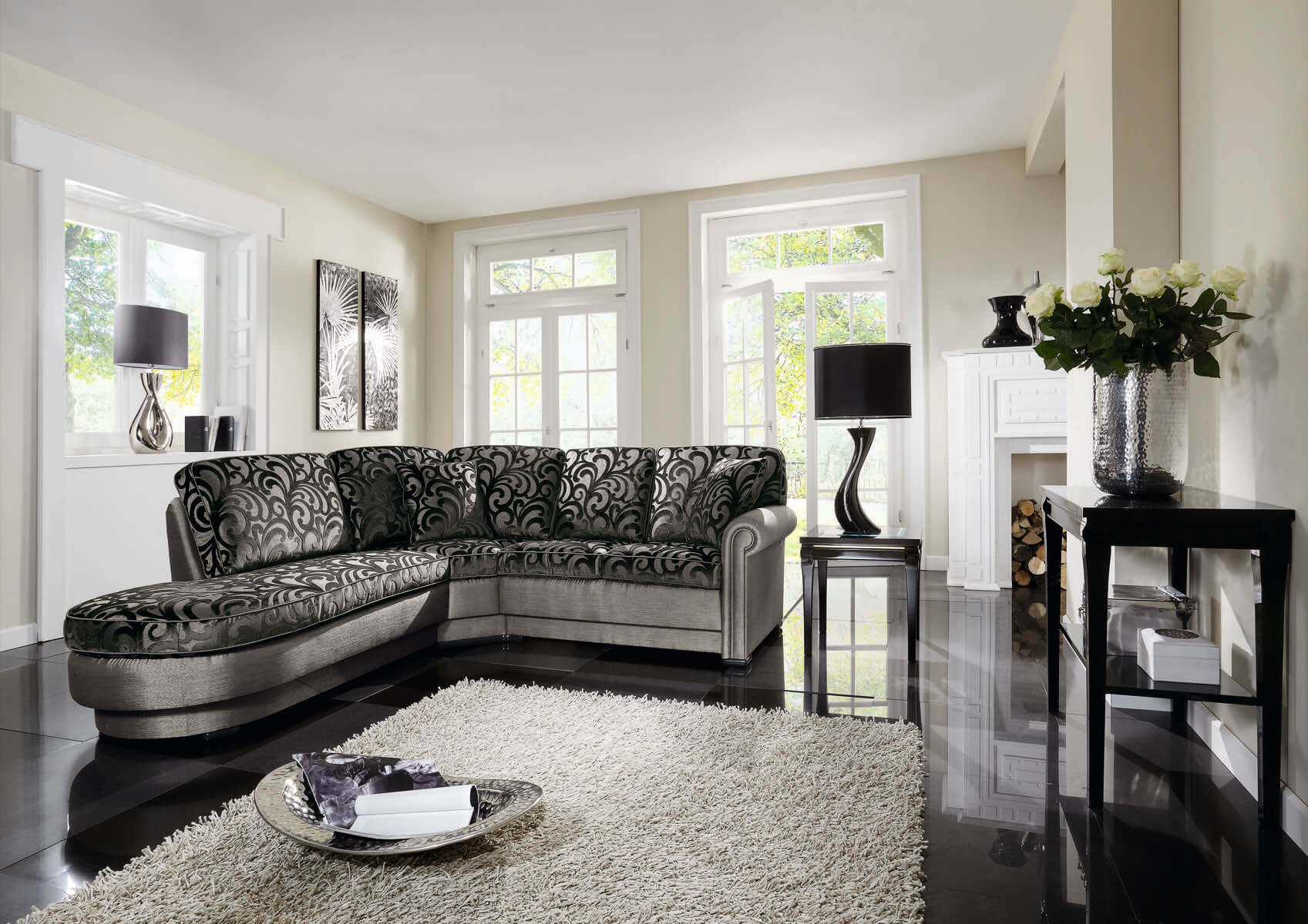 wohnlandschaft franco ph nix sch ner leben. Black Bedroom Furniture Sets. Home Design Ideas