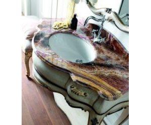 waschtisch-holz-geschnitzt-roter-marmor-weiss-braun-silvano-grifoni-3004-marmor