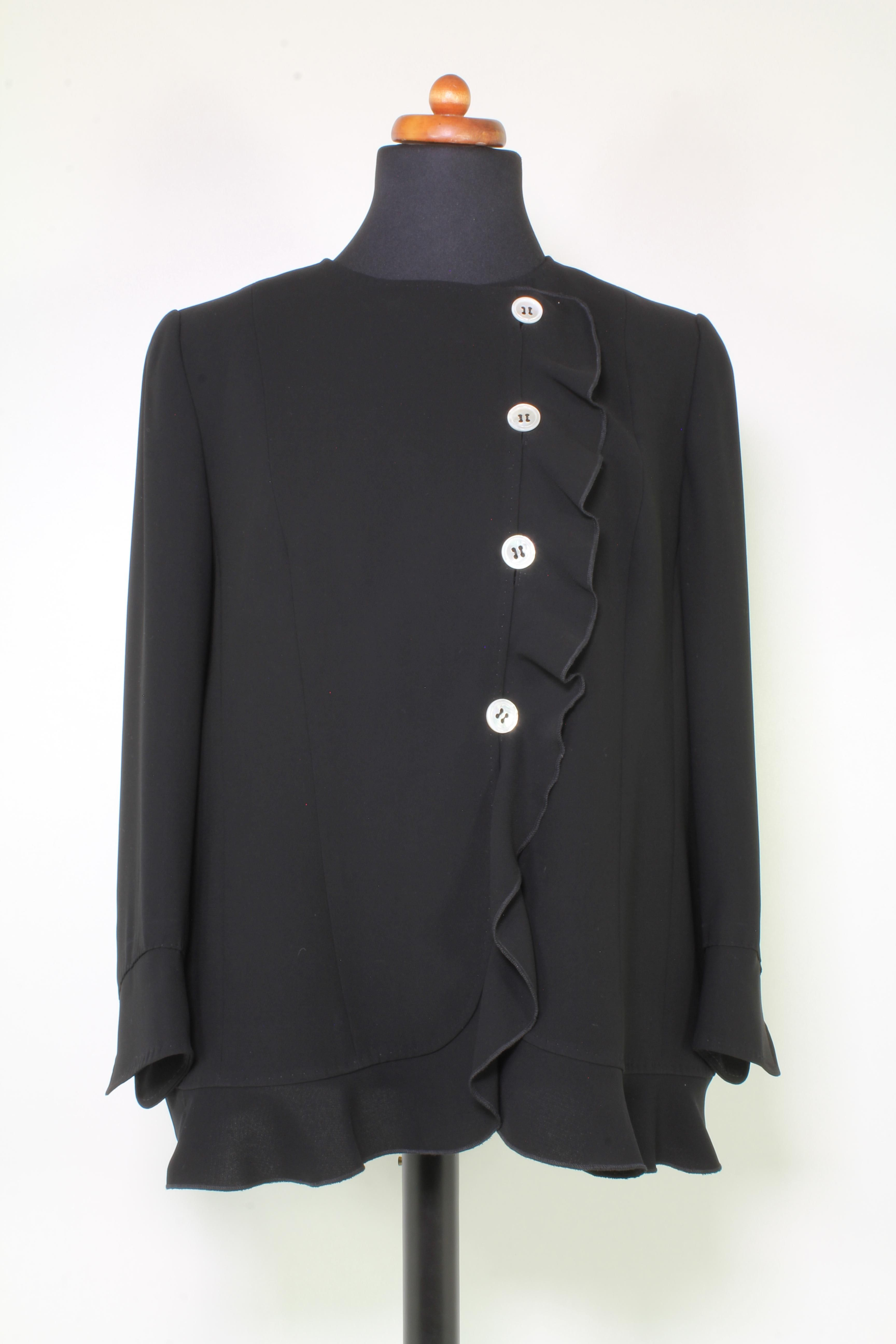 MAISON COMMON Blazer in schwarz