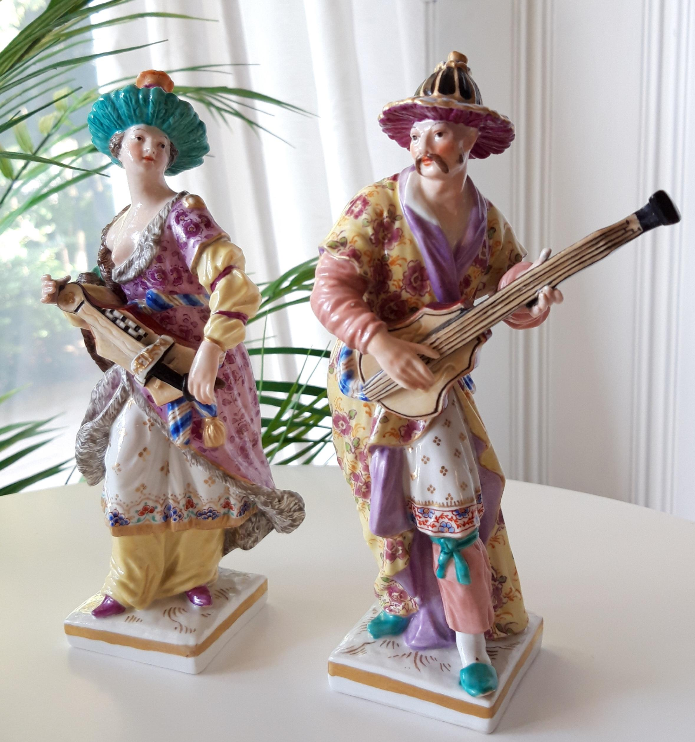 Musiker Paar KPM Berlin