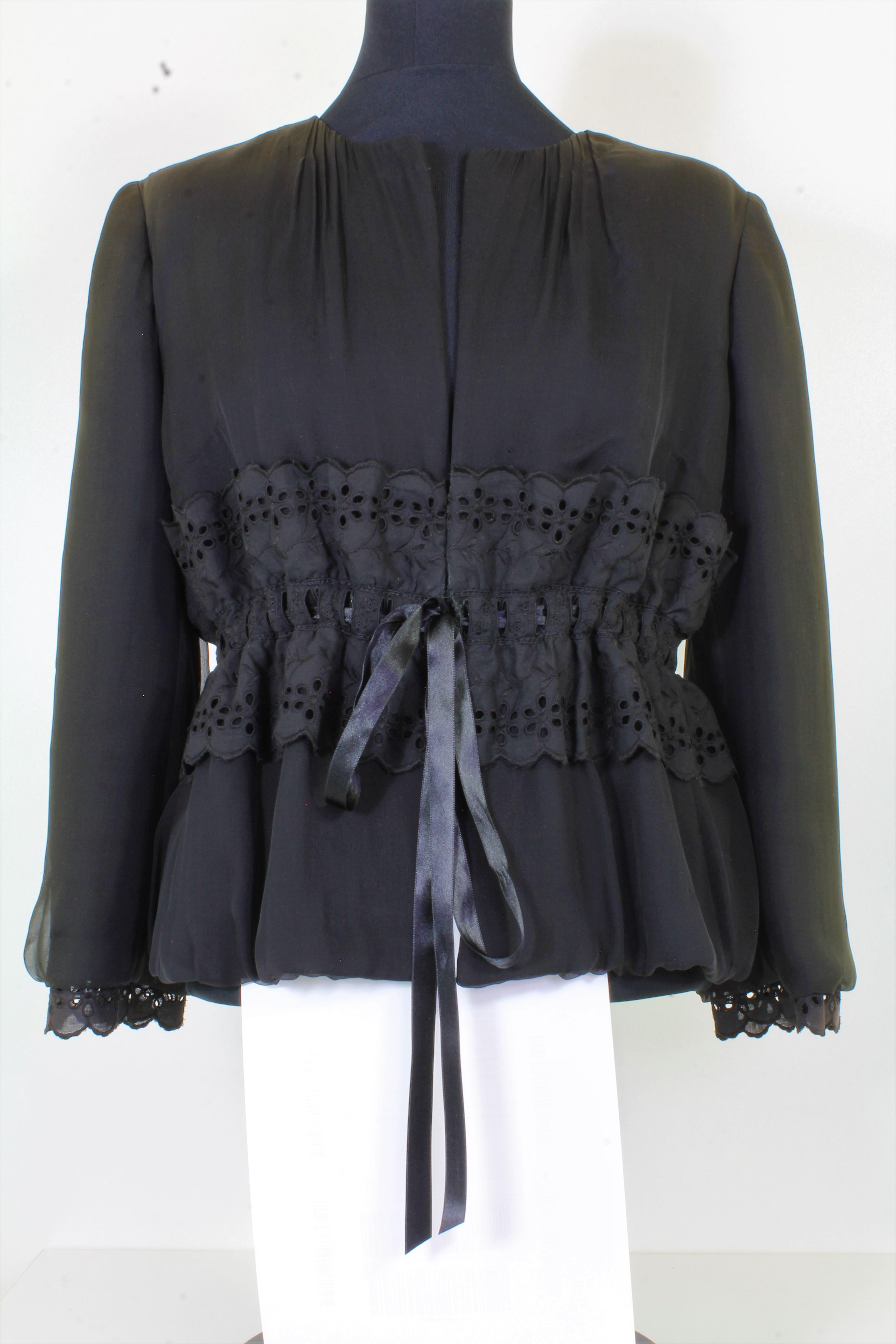 Dolce & Gabbana Blazer mit Spitze