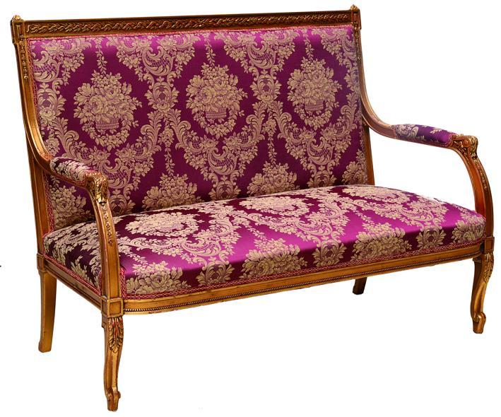 Sofa und 2 Sessel Antoine