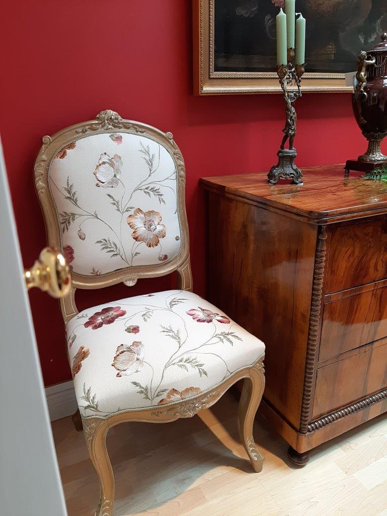Stühle aus der Zeit des Louis XV