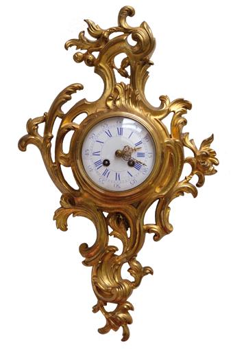 Kartell Uhr aus einem französischem Schloß