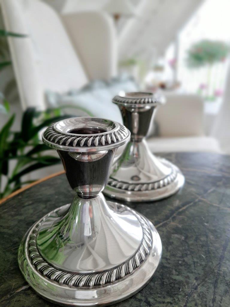 Echt Silber Leuchter