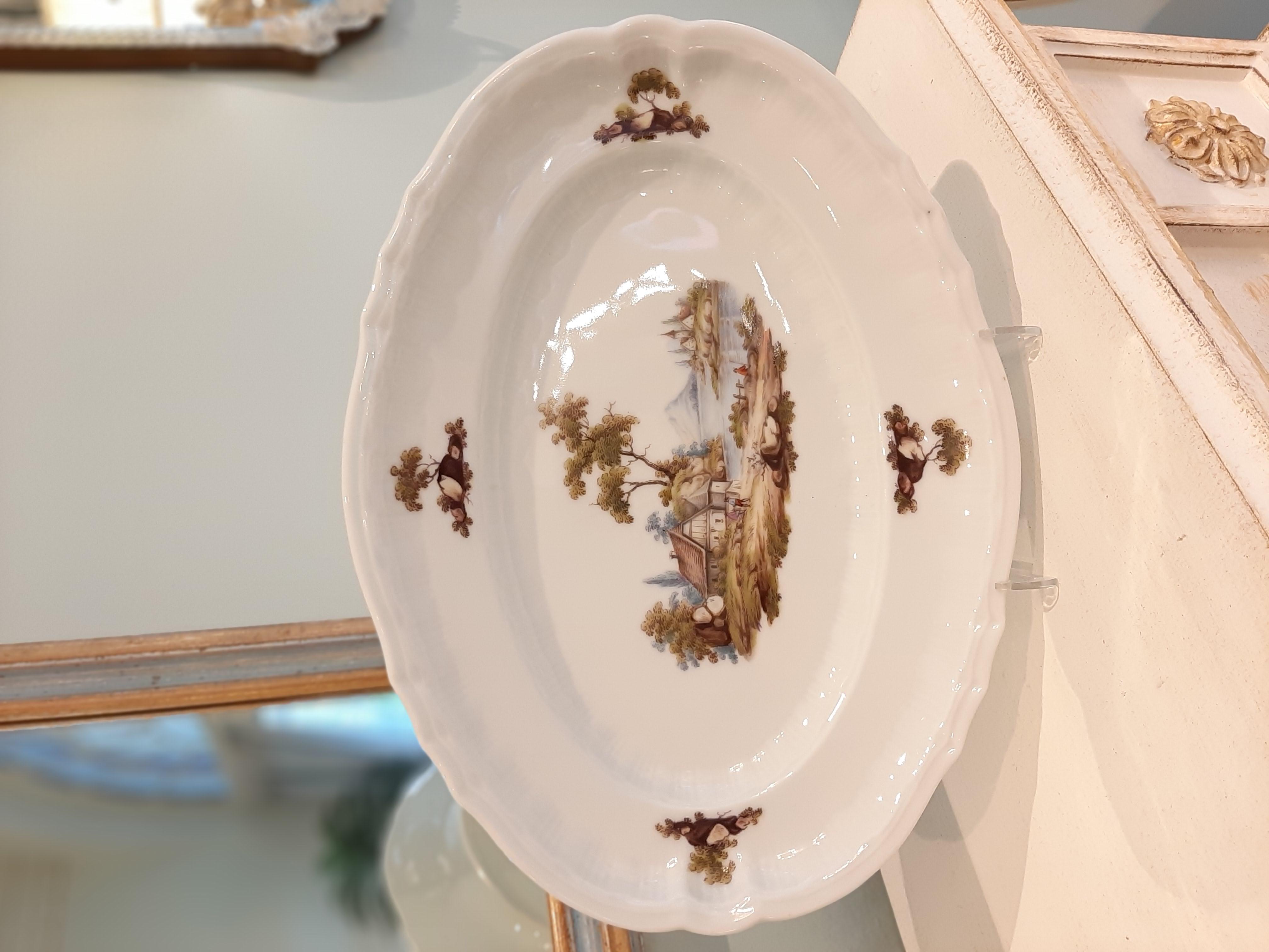 Porzellan Schale handgemalt