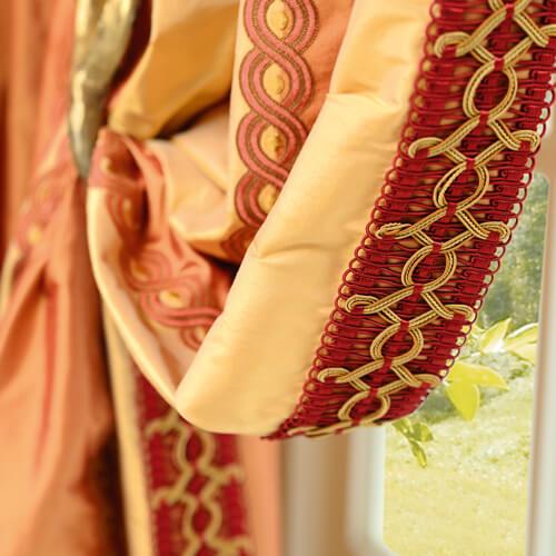 Image Vorhangdekorationen aus dem eigenen Schneideratelier