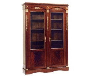 vitrine-klassisch-empire-stil-holz-glas-taillardat-tallien