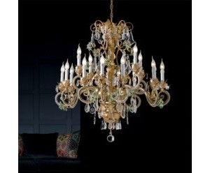 deckenleuchter-gruener-kristall-behang-golden-16-flammig-epoca-1419-12-4