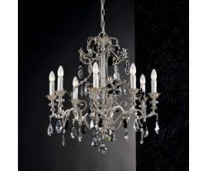 deckenleuchter-schwarzer-kristall-behang-8-flammig-epoca-1412-8