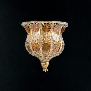 wandlampe-kristall-blumen-creme-braun-epoca-1406-a2v
