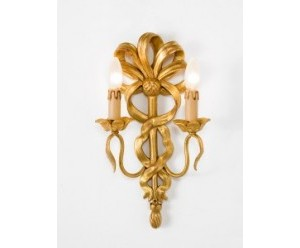 wandlampe-geschnitzt-2-flammig-gold-holz-chelini-493