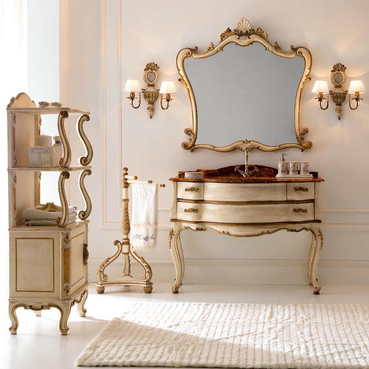 Italienische Möbel: Waschtisch